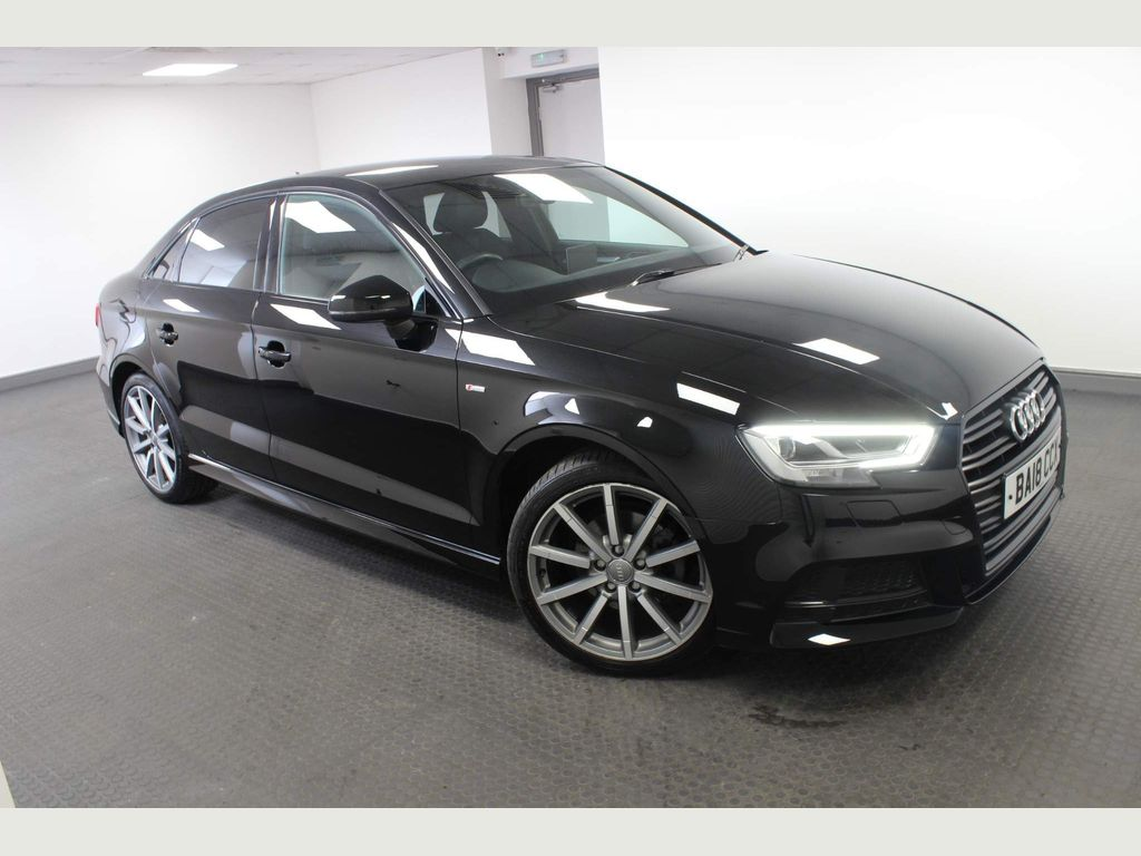 Audi A3 Saloon 2.0 TDI Black Edition S Tronic (s/s) 4dr