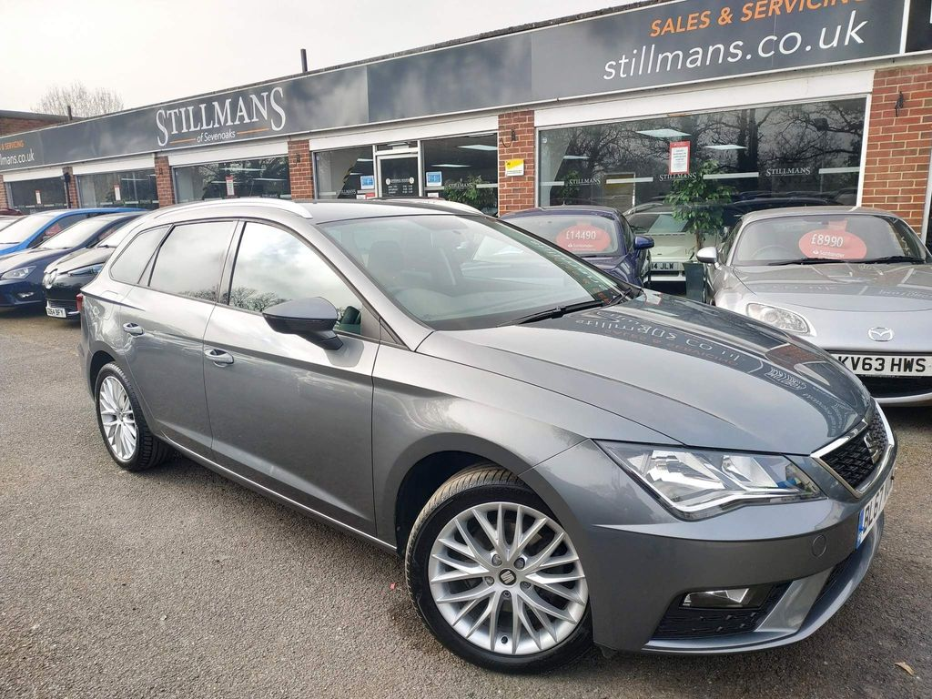 SEAT Leon Estate 1.6 TDI SE Dynamic Technology ST DSG (s/s) 5dr