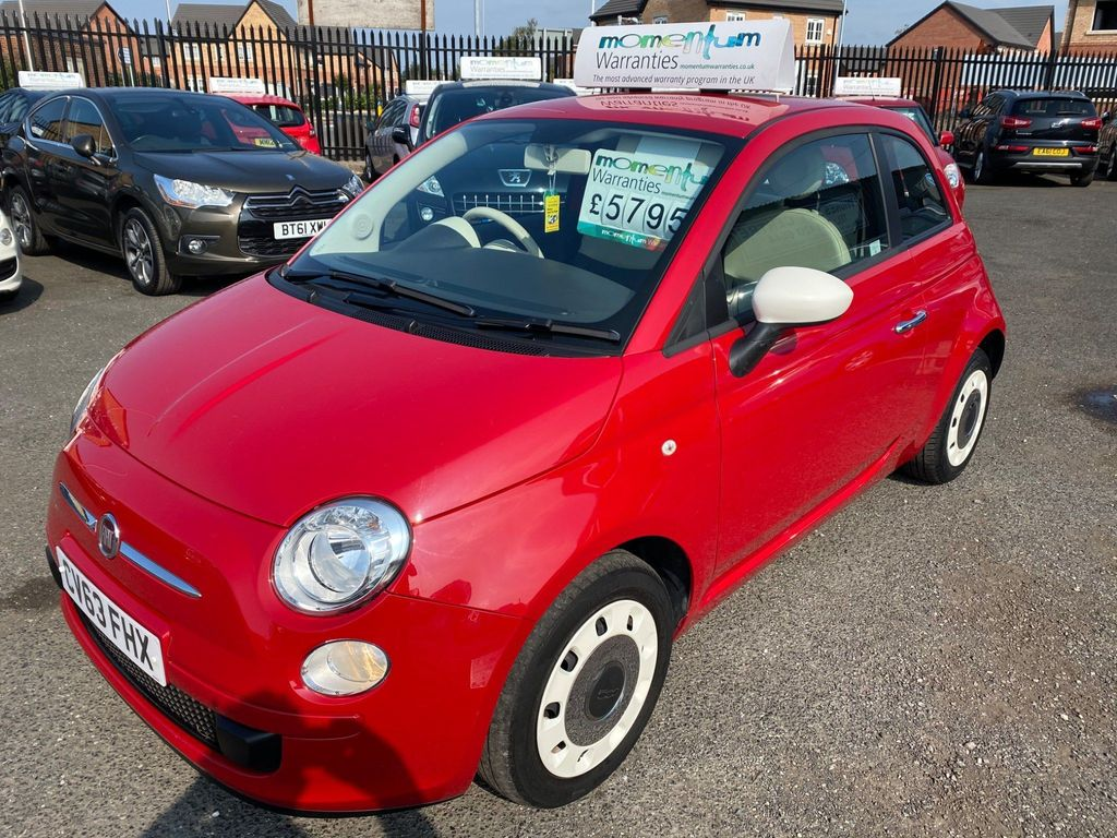Fiat 500 Hatchback 1.2 Colour Therapy Dualogic 3dr