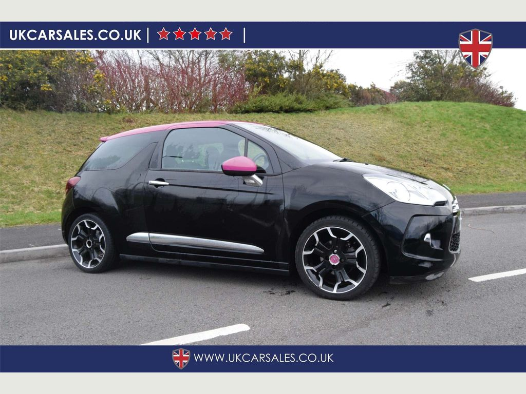 Citroen DS3 Hatchback 1.6 e-HDi Airdream DSport Pink 3dr