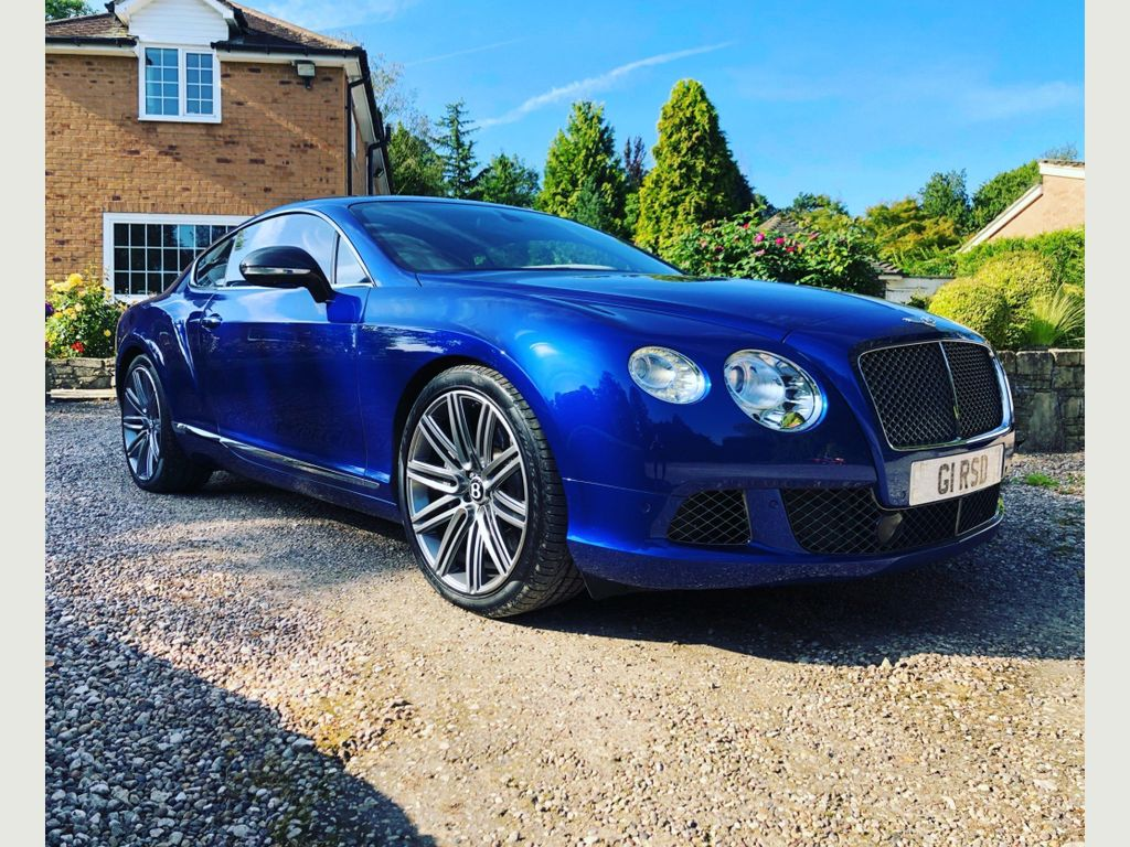Bentley Continental Coupe 6.0 W12 GT Speed Auto 4WD 2dr