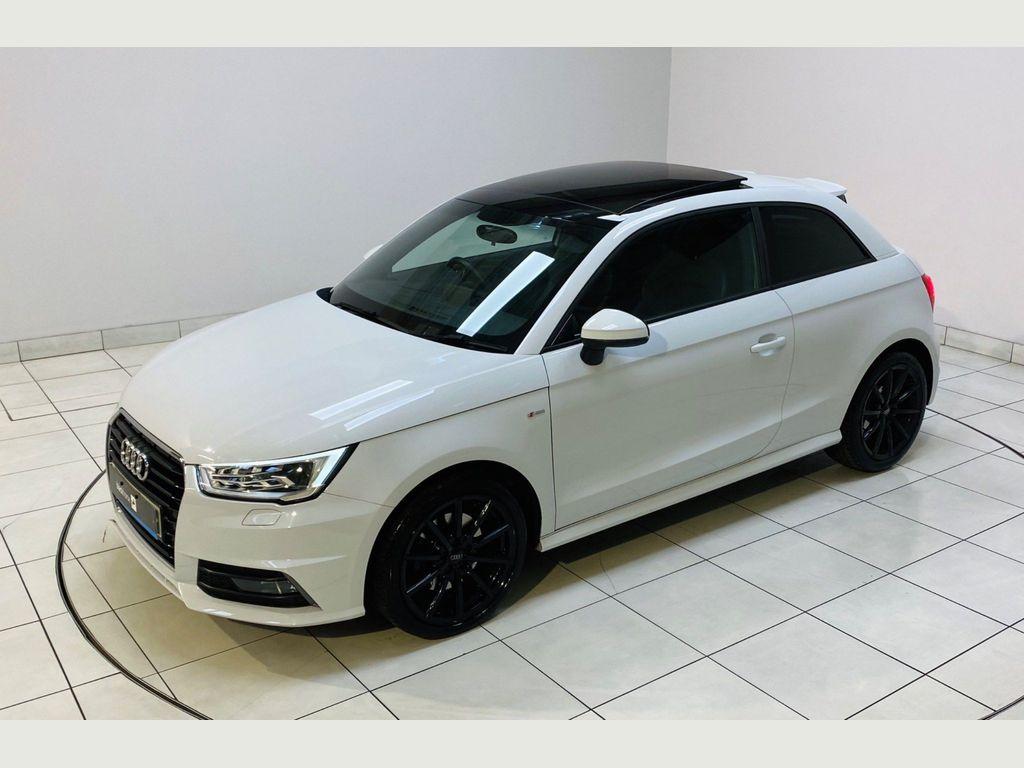 Audi A1 Hatchback 1.6 TDI S line S Tronic (s/s) 3dr