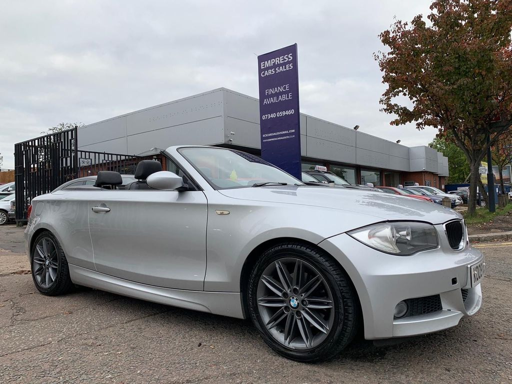 BMW 1 Series Convertible 2.0 120i M Sport Auto 2dr