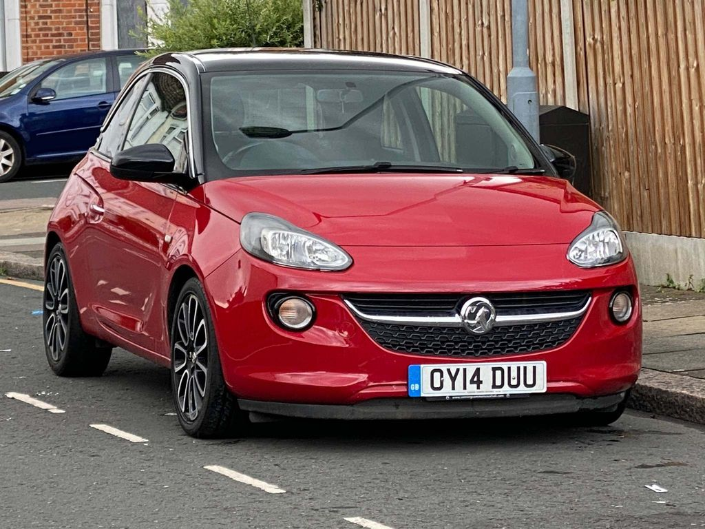 Vauxhall ADAM Hatchback 1.4 ecoFLEX 16v GLAM (s/s) 3dr