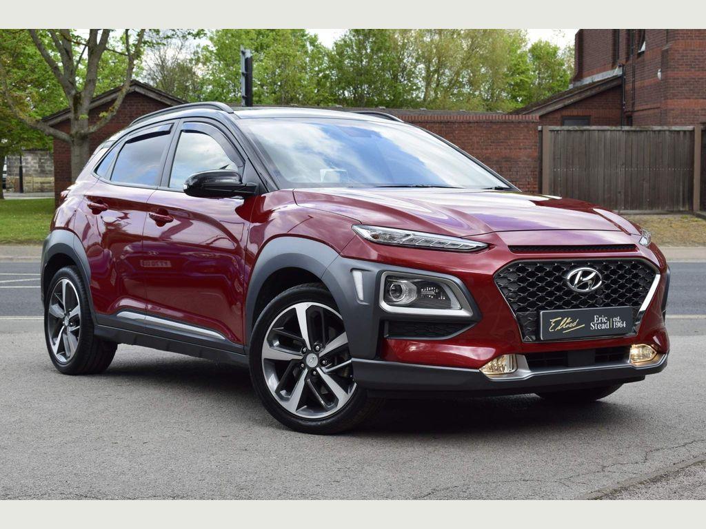 Hyundai KONA SUV 1.6 T-GDi Blue Drive Premium GT DCT 4WD (s/s) 5dr