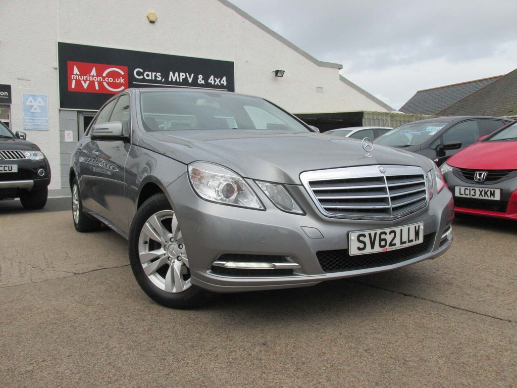 Mercedes-Benz E Class Saloon 2.1 E200 TD CDI BlueEFFICIENCY SE 7G-Tronic Plus (s/s) 4dr