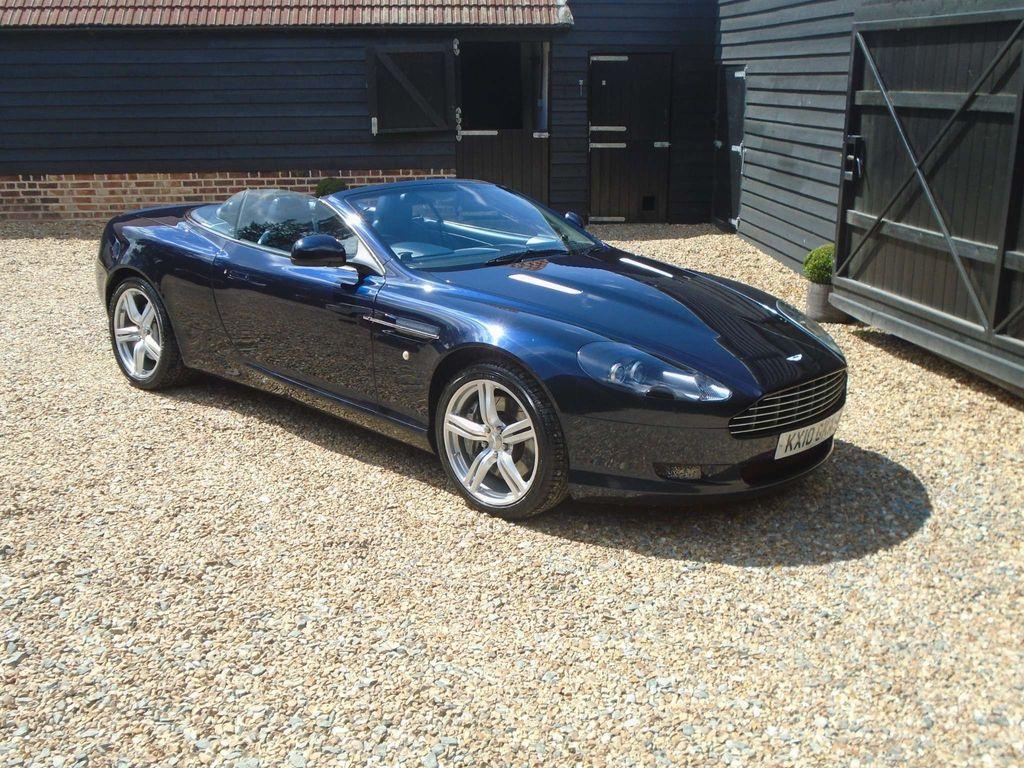 Aston Martin DB9 Convertible 6.0 Volante Touchtronic 2dr