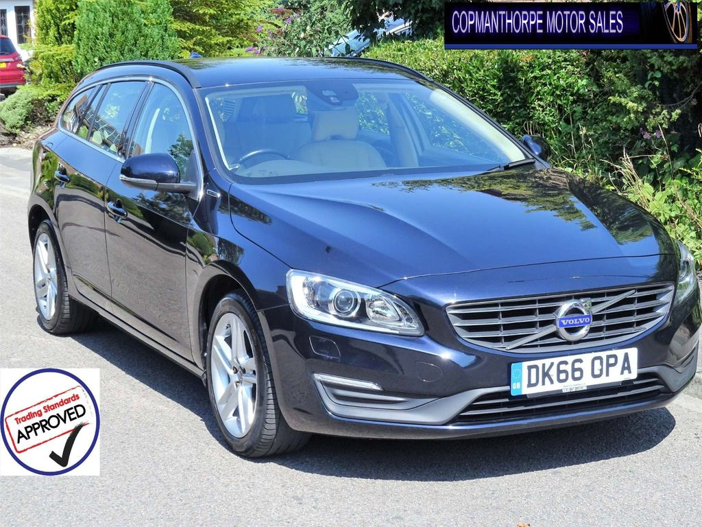 Volvo V60 Estate 2.4 D5 Twin Engine SE Nav Auto AWD (s/s) 5dr