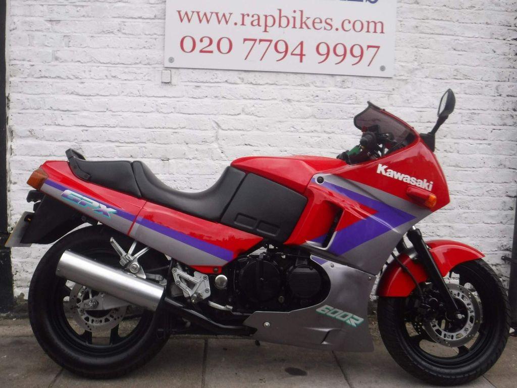 Kawasaki GPX Sports Tourer 600 C6