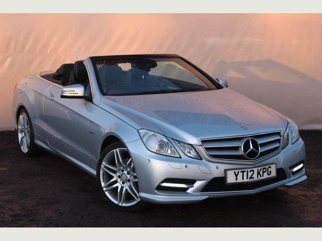 Mercedes-Benz E Class Convertible 3.0 E350 CDI BlueEFFICIENCY Sport Edition 125 Cabriolet 7G-Tronic Plus (s/s) 2dr