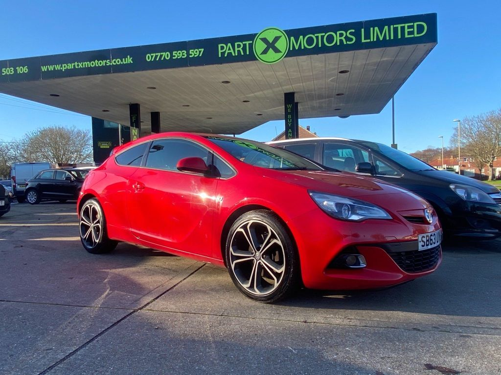 Vauxhall Astra GTC Coupe 1.4T 16V Limited Edition (s/s) 3dr
