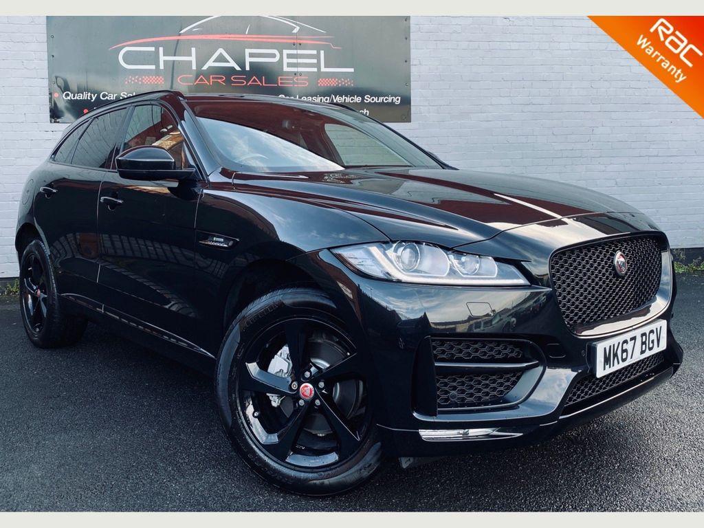 Jaguar F-PACE SUV 2.0d R-Sport Auto AWD (s/s) 5dr