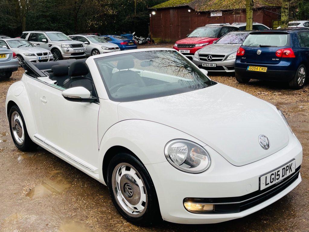 Volkswagen Beetle Convertible 1.2 TSI Design Cabriolet DSG 2dr