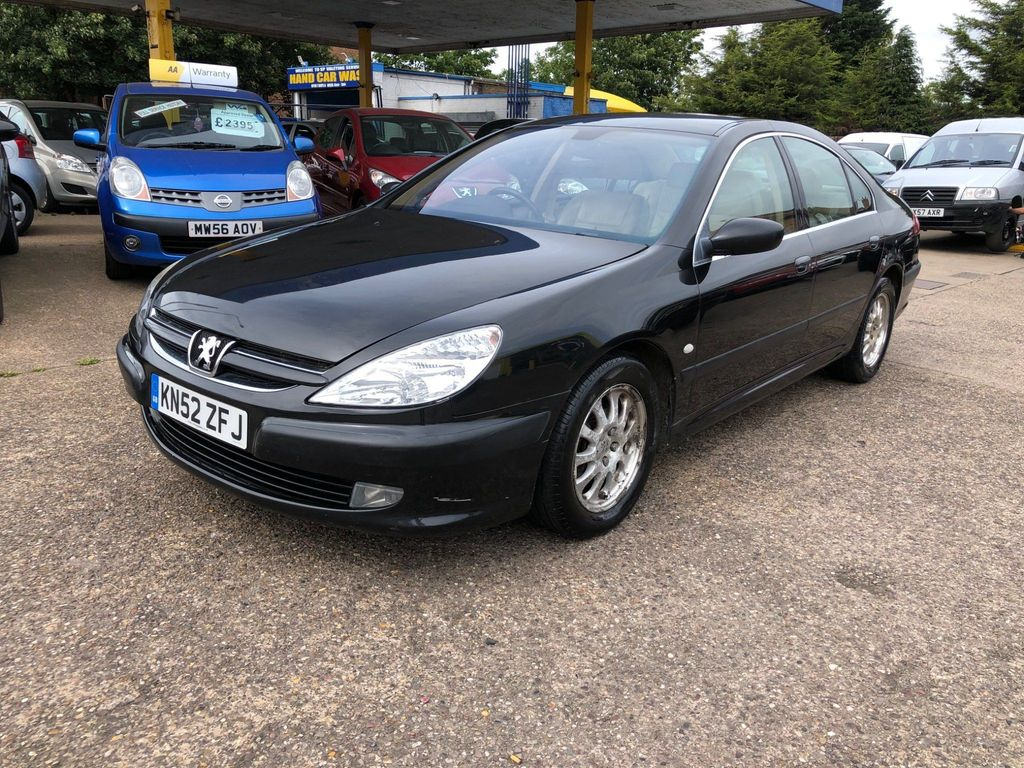 Peugeot 607 Saloon 2.2 HDi SE 4dr