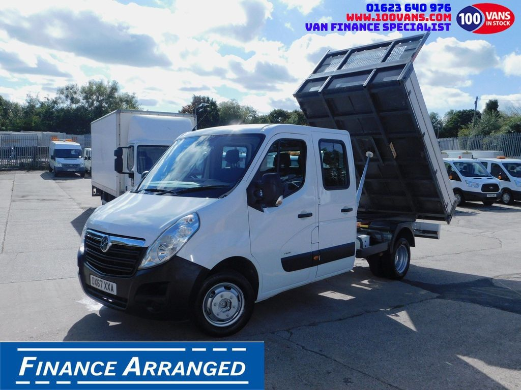 Vauxhall Movano Tipper SOLD SOLD SOLD