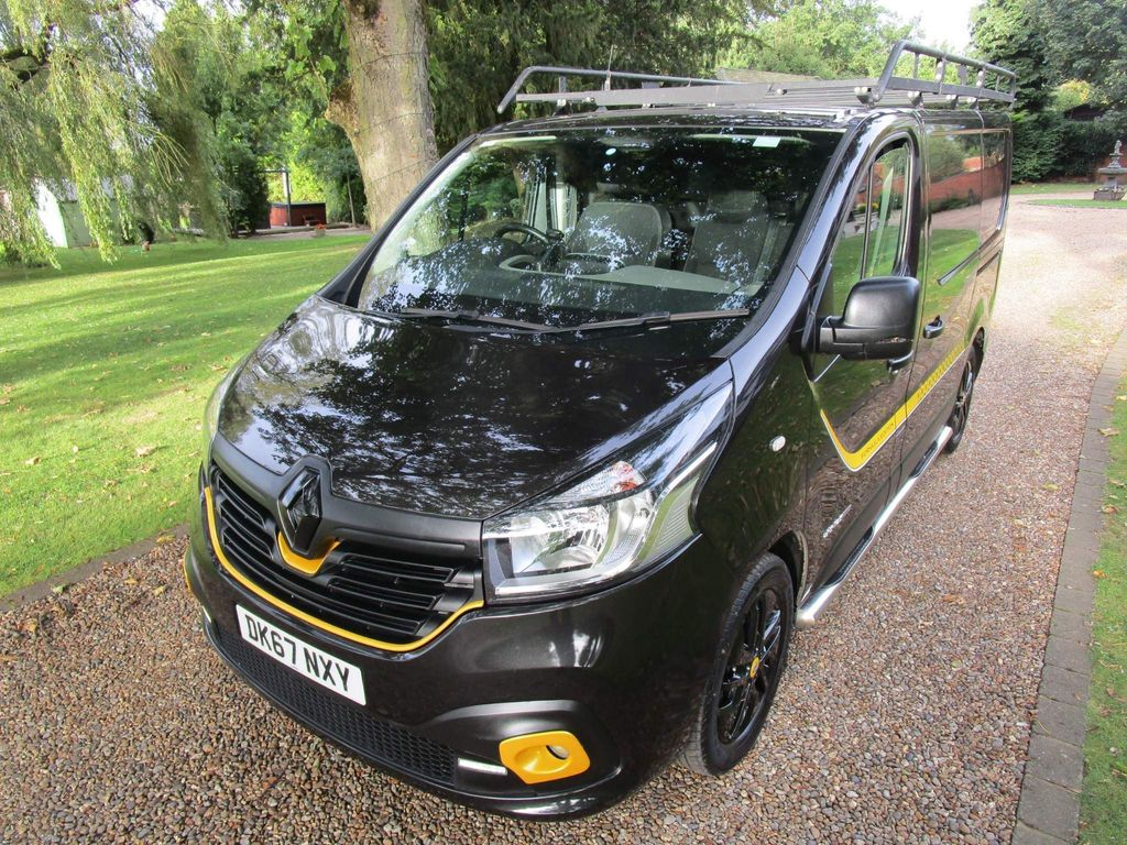 Renault Trafic Panel Van 1.6 dCi ENERGY 27 Formula Edition SWB Standard Roof EU6 (s/s) 5dr