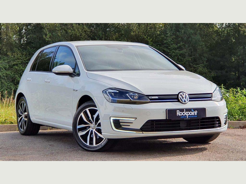 Volkswagen Golf Hatchback 35.8kWh e-Golf Auto 5dr