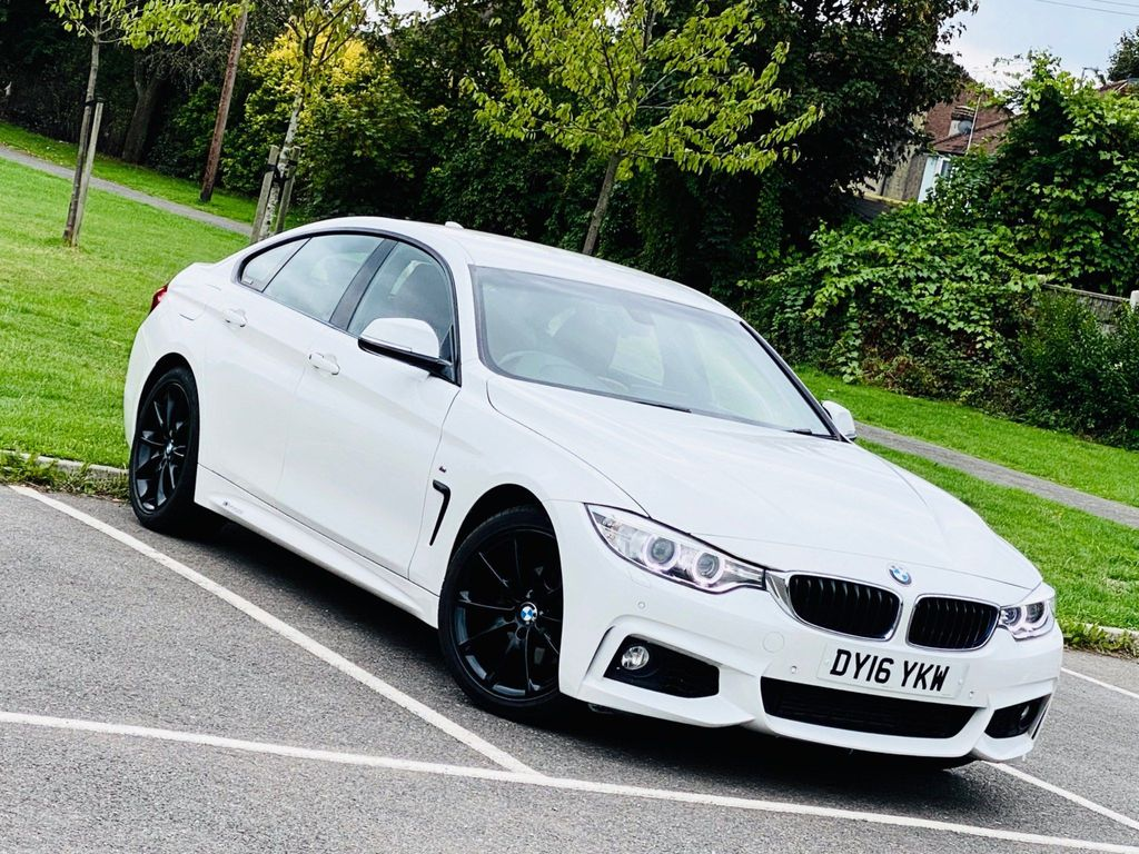 BMW 4 Series Gran Coupe Saloon 2.0 420i M Sport Gran Coupe Auto (s/s) 5dr