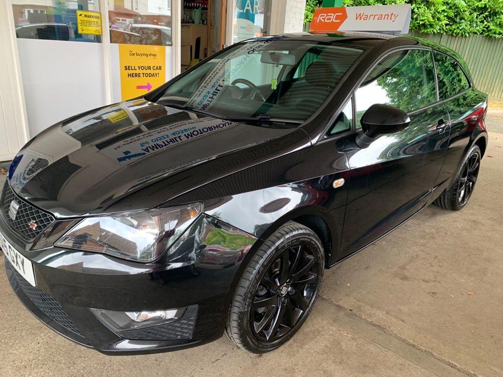SEAT Ibiza Hatchback 1.2 TSI FR Black SportCoupe 3dr