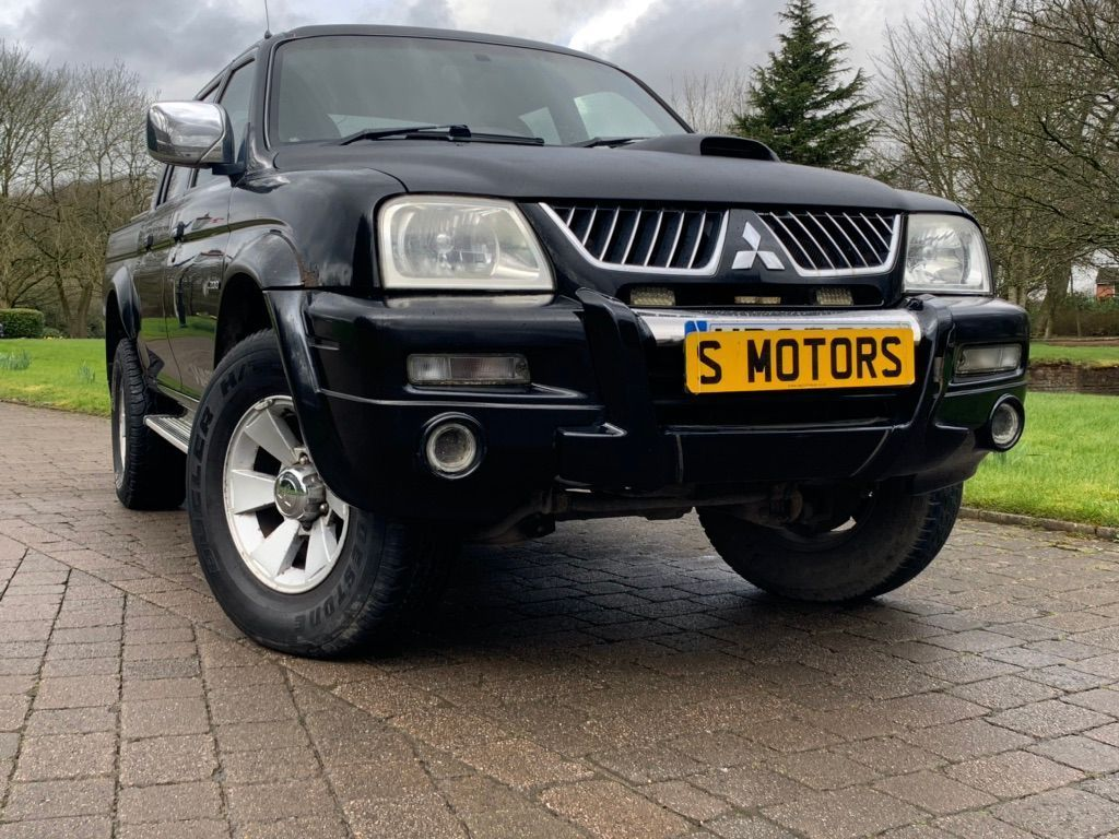 Mitsubishi L200 Pickup 2.5 TD Warrior Crewcab Pickup 4dr