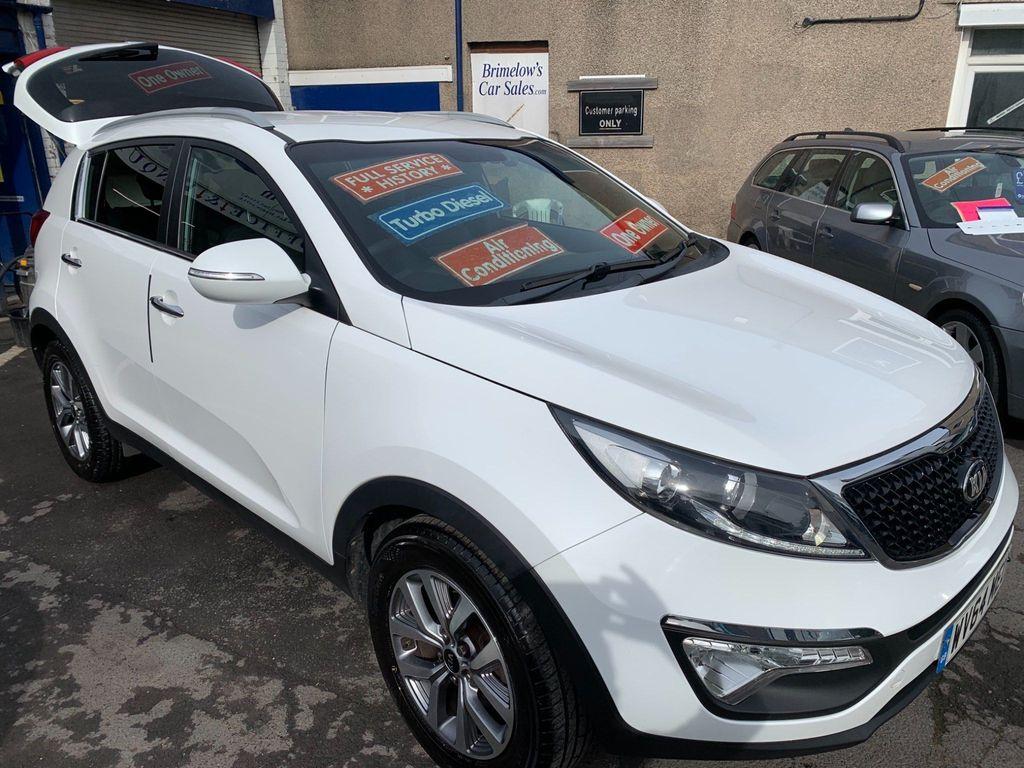 Kia Sportage SUV 1.7 CRDi EcoDynamics White Edition 2WD 5dr