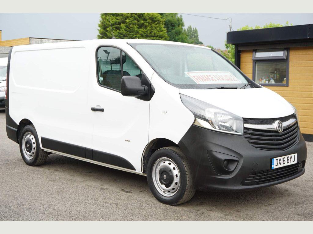 Vauxhall Vivaro Panel Van 1.6 CDTi 2900 L1 H1 SWB 5dr