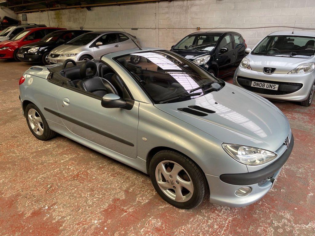 Peugeot 206 CC Convertible 1.6 S 2dr