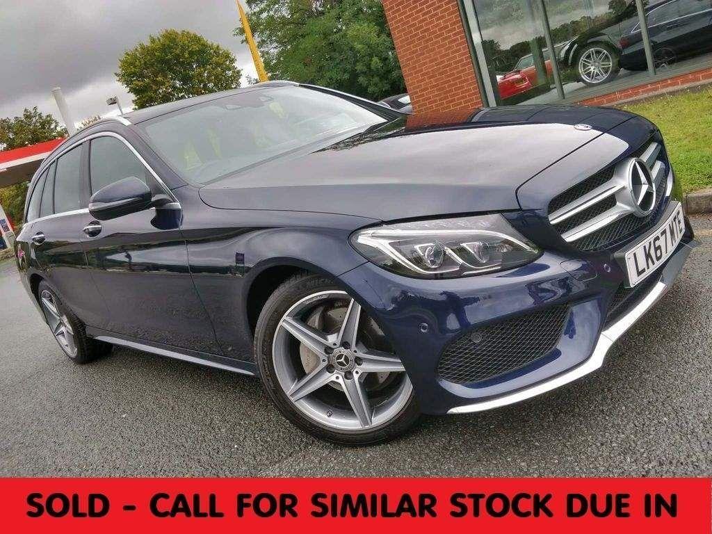 Mercedes-Benz C Class Estate 2.0 C200 AMG Line (Premium Plus) G-Tronic+ 4MATIC (s/s) 5dr