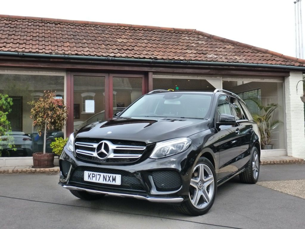 Mercedes-Benz GLE Class SUV 3.0 GLE350d V6 AMG Line G-Tronic 4MATIC (s/s) 5dr