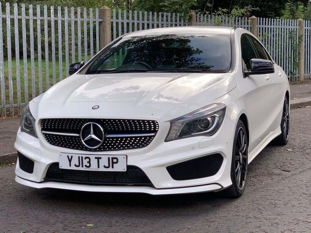Mercedes-Benz CLA Class Coupe 2.1 CLA200 CDI AMG Sport 7G-DCT 4dr