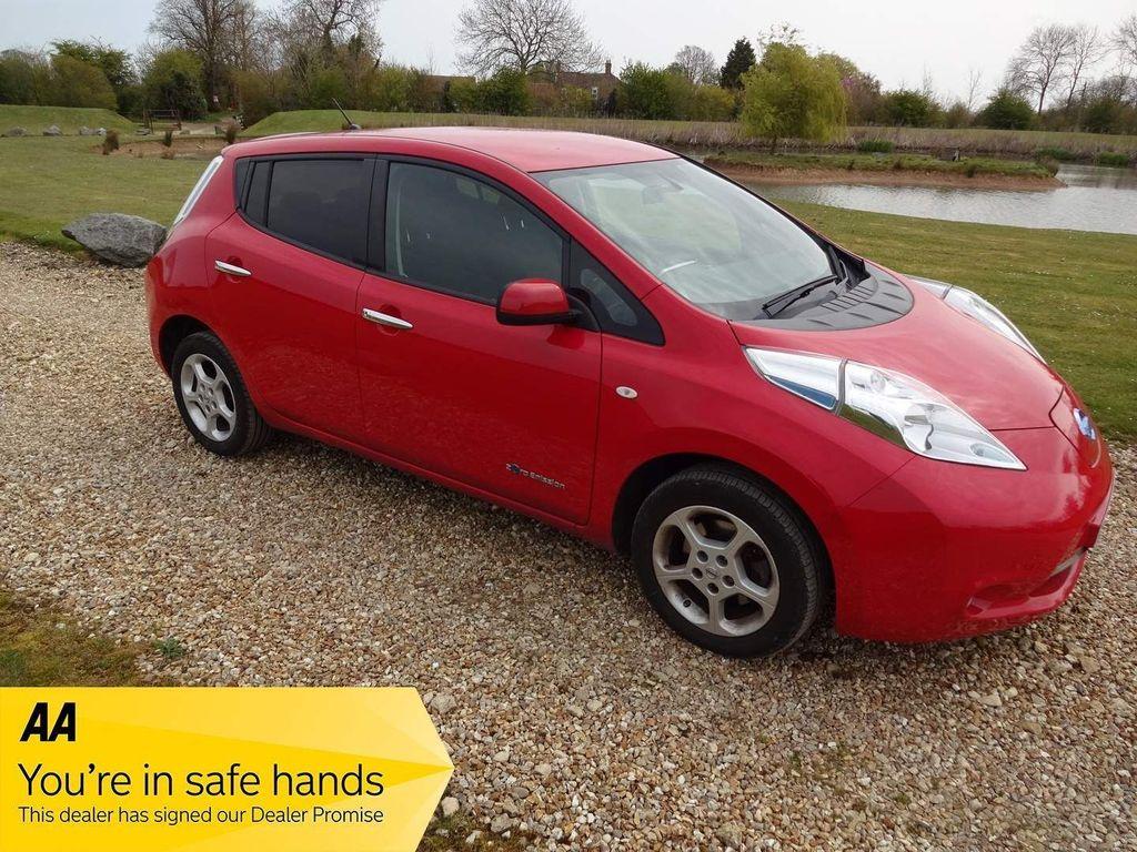 Nissan Leaf Hatchback 24kWh Visia+ Auto 5dr Battery Lease