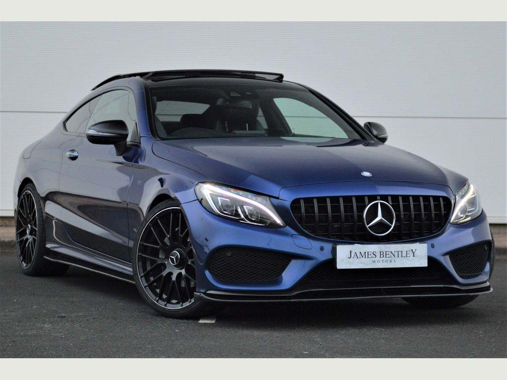 Mercedes-Benz C Class Coupe 2.1 C220d AMG Line (Premium) G-Tronic+ (s/s) 2dr
