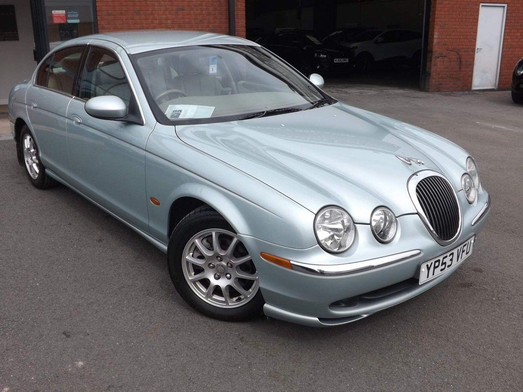 Jaguar S-Type Saloon 2.5 V6 Saloon 4dr Petrol Automatic (249 g/km, 201 bhp)