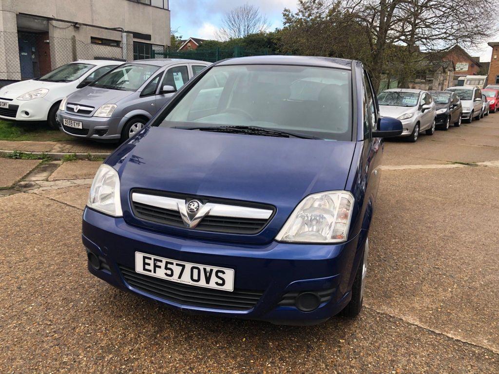 Vauxhall Meriva MPV 1.6 i 16v Energy 5dr