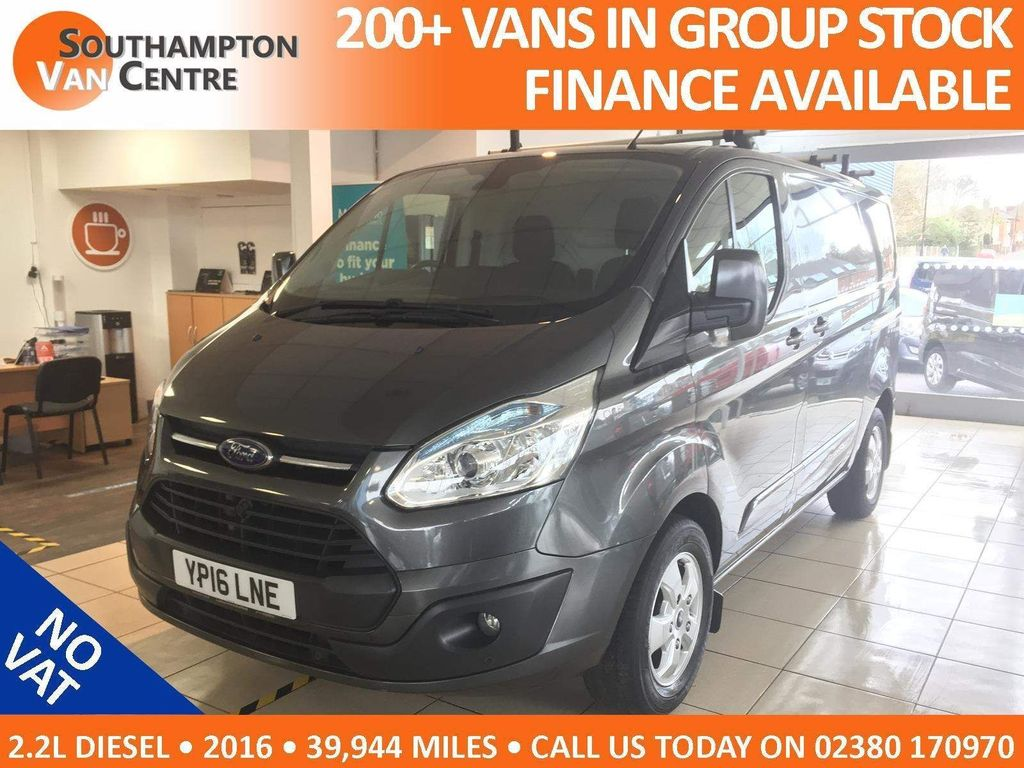 Ford Transit Custom Panel Van 2.2 TDCi 270 Limited L1 H1 5dr