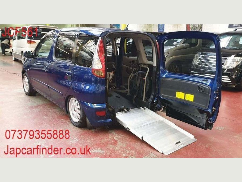 Toyota Yaris Verso Hatchback Mobility Scooter Ramp Automatic Low mile
