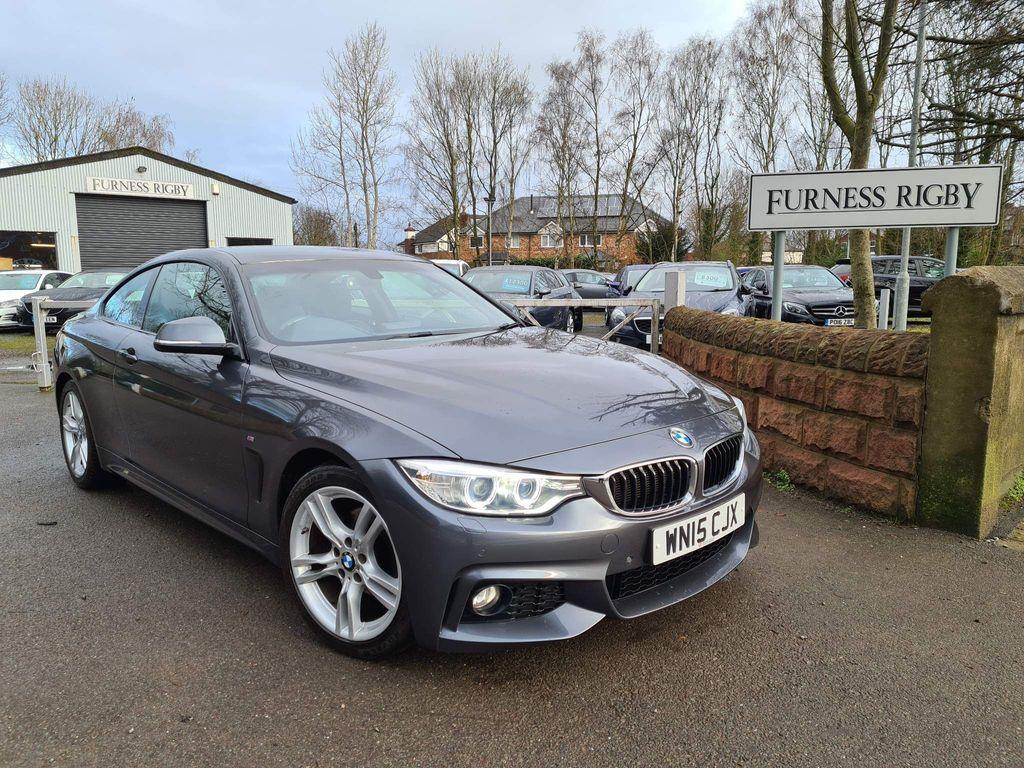 BMW 4 Series Coupe 2.0 420d M Sport Auto 2dr