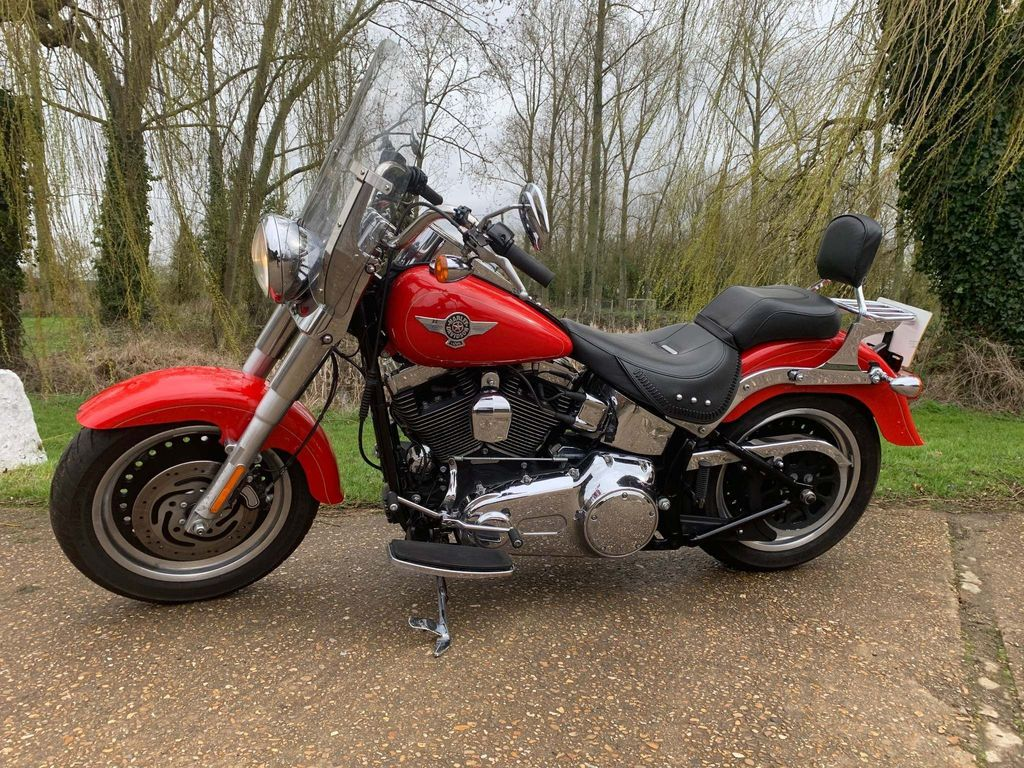 Harley-Davidson Softail Custom Cruiser 1600 FLSTF Fat Boy