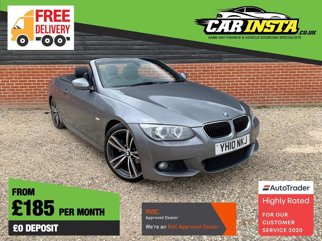 BMW 3 Series Convertible 2.0 320i M Sport 2dr