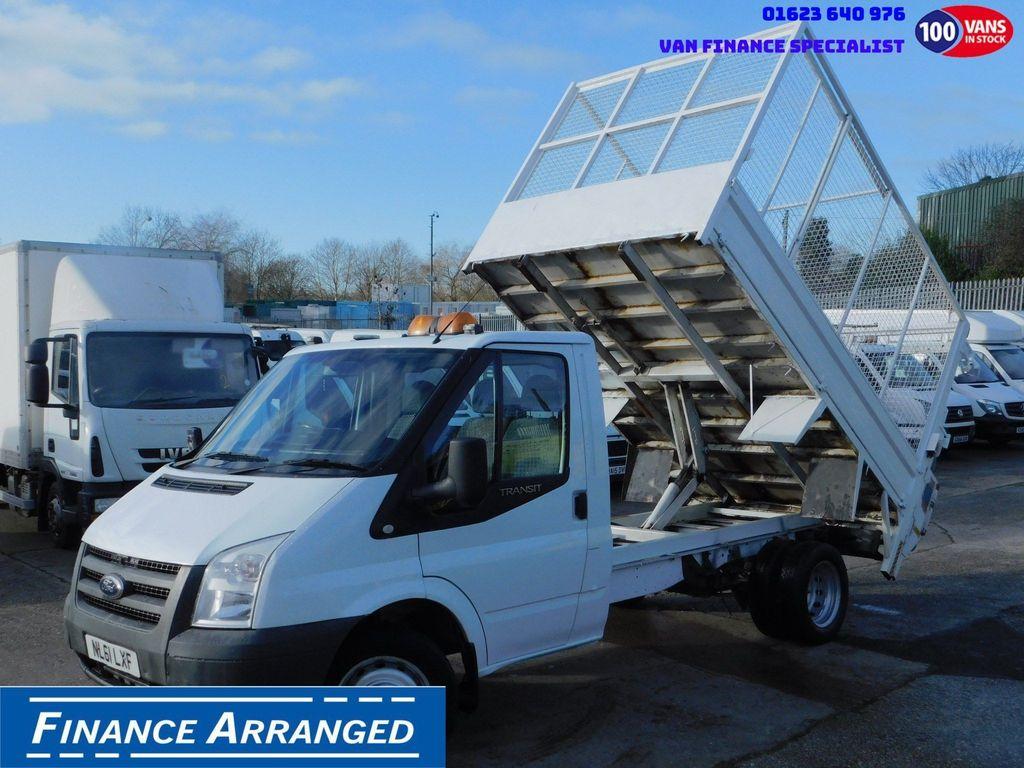 Ford Transit Tipper 2.4TDCI MWB CAGE TIPPER & TAIL LIFT