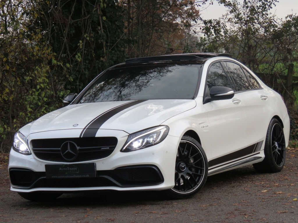 Mercedes-Benz C Class Saloon 4.0 C63 V8 BiTurbo AMG SpdS MCT (s/s) 4dr