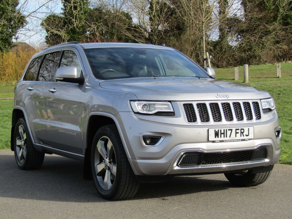 Jeep Grand Cherokee SUV 3.0 V6 CRD Overland Auto 4WD (s/s) 5dr