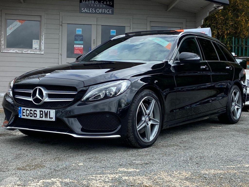 Mercedes-Benz C Class Estate 2.1 C220d AMG Line (Premium) G-Tronic+ (s/s) 5dr