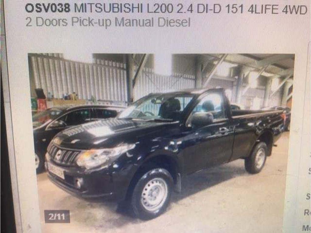 Mitsubishi L200 Pickup 2.4 DI-D SC 4Life 4WD (s/s) 2dr