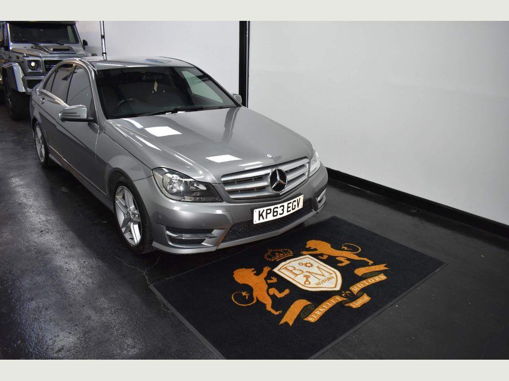 Mercedes-Benz C Class Saloon 2.1 C250 CDI AMG Sport 7G-Tronic Plus 4dr