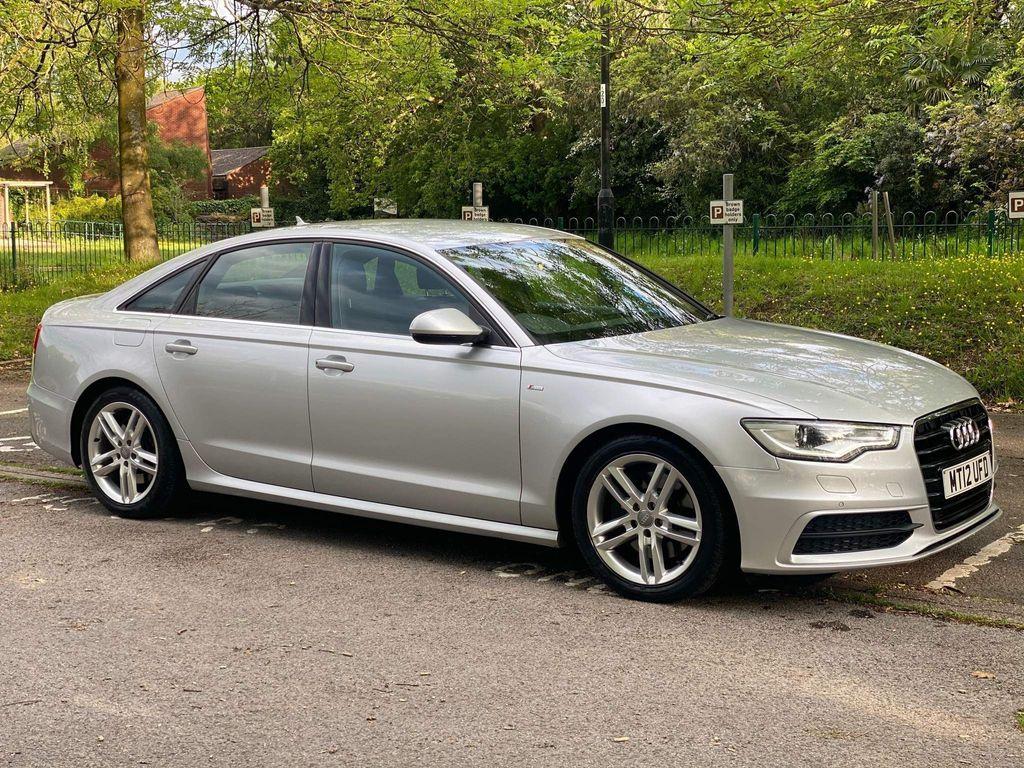 Audi A6 Saloon Saloon 3.0 TDI V6 S line S Tronic quattro 4dr