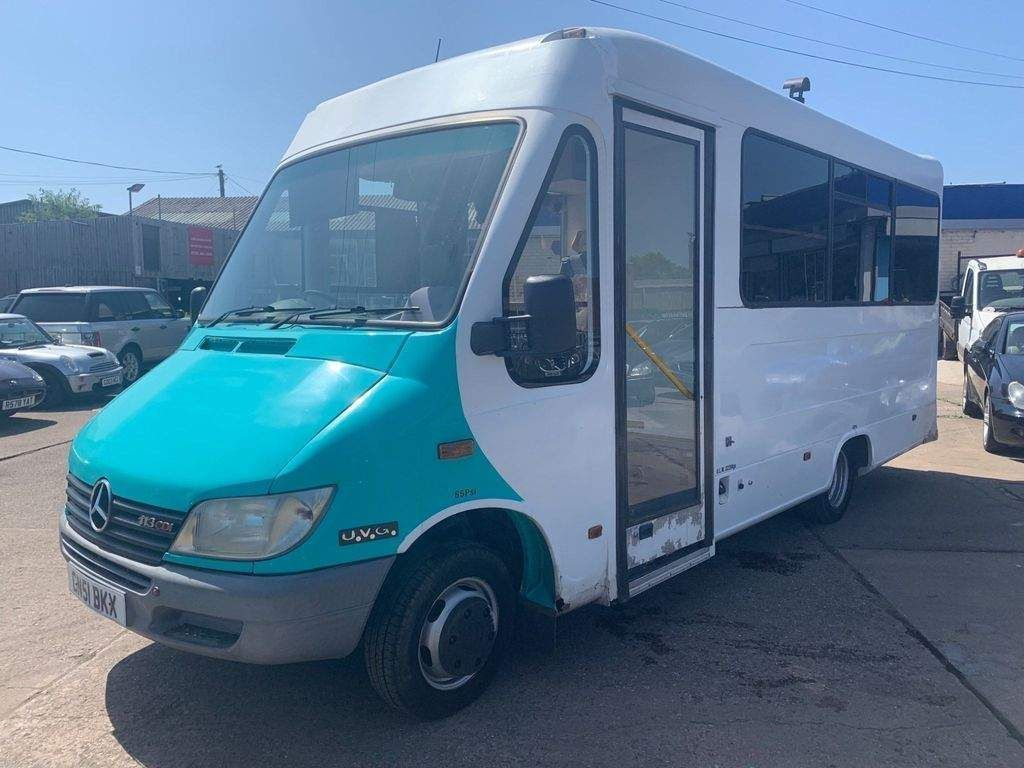 Mercedes-Benz Sprinter 413 Cdi Day Van Festive Bus Camper Unlisted