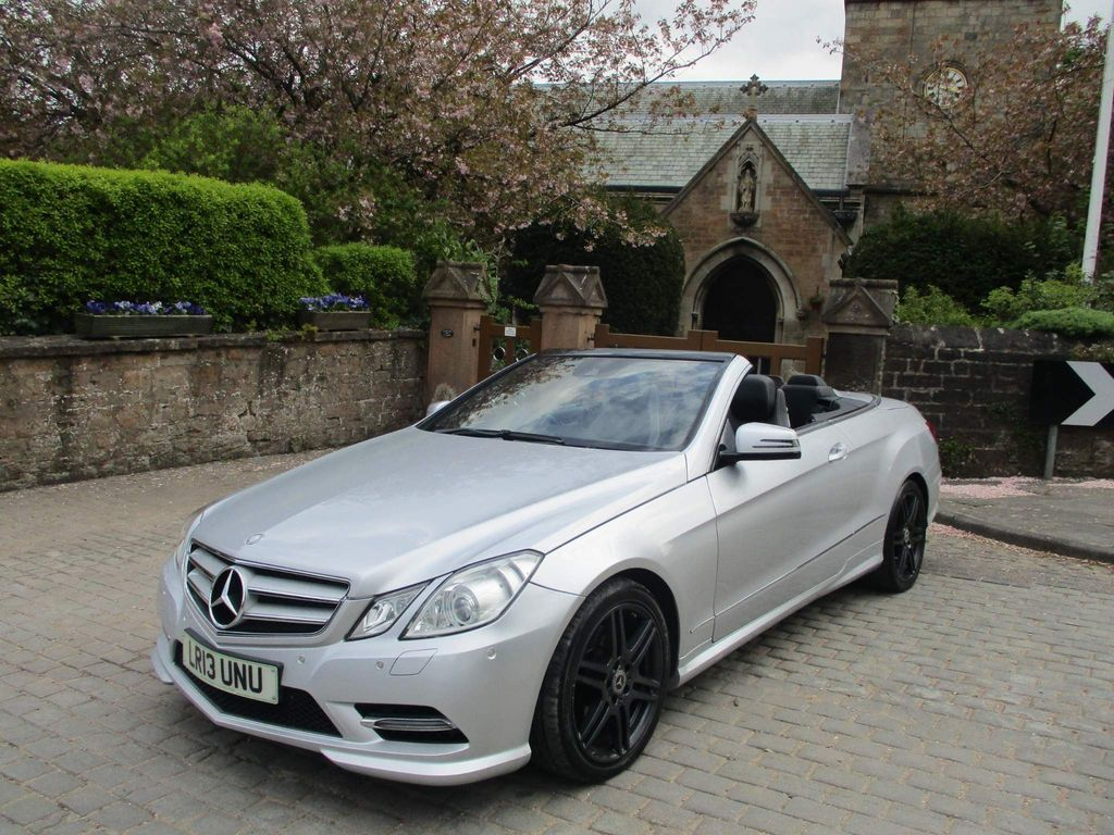 Mercedes-Benz E Class Convertible 2.1 E250 CDI BlueEFFICIENCY Sport Cabriolet G-Tronic 2dr