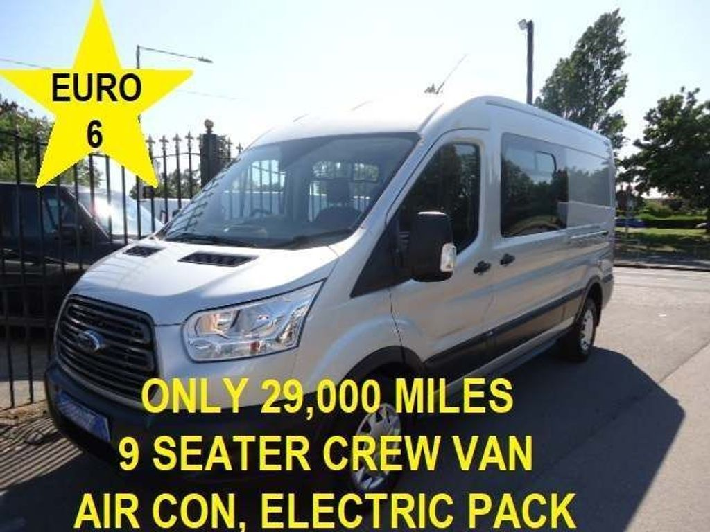 Ford Transit Other 2.0 350 EcoBlue Trend DCIV RWD L3 H2 EU6 6dr