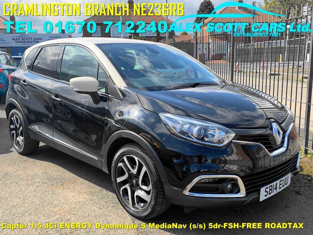 Renault Captur SUV 1.5 dCi ENERGY Dynamique S MediaNav (s/s) 5dr